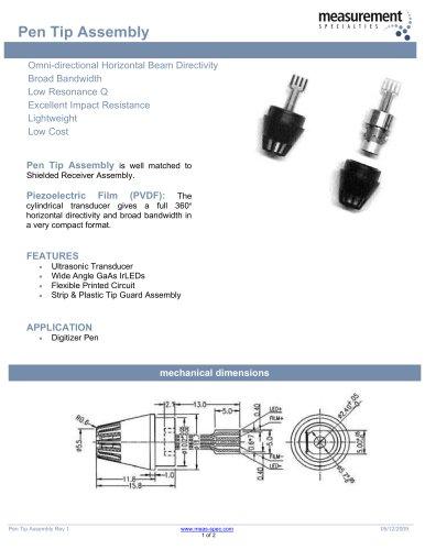 Piezo Sensor - Pen Tip PT80KHZ-01