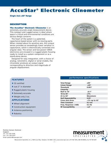 Position Sensor - AccuStar I Series