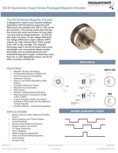 Position Sensor - ED-20 Series
