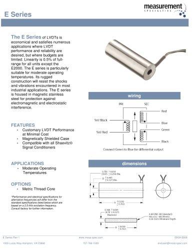Position Sensor - E Series