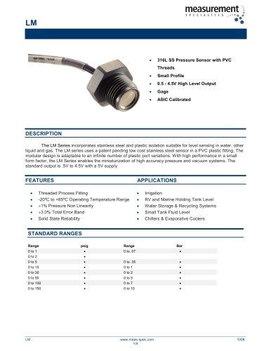 Pressure Sensor - Model LM
