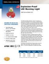 2000 Series Model LED Explosion-Proof LED Warning Light