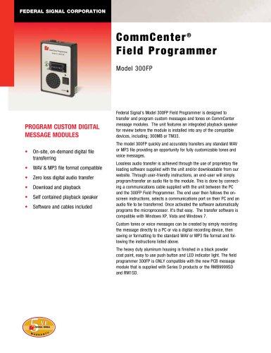 300FP CommCenter® Field Programmer