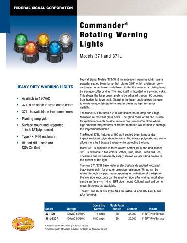371 Commander® Rotating Warning Light