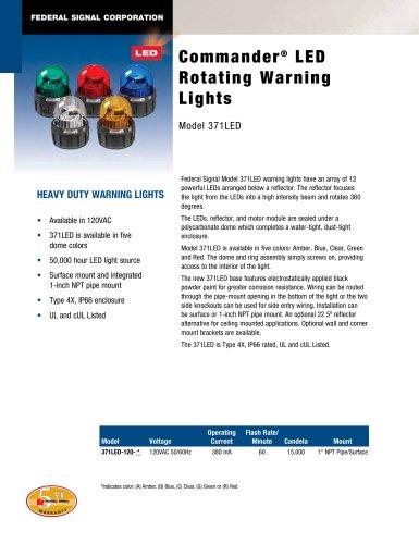 371LED Commander® LED Rotating Warning Light