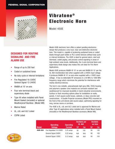 450E Vibratone® Electronic Horn