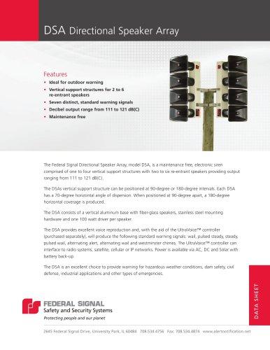 DSA High-Powered Directional Speaker