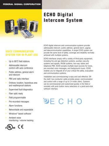 ECHO Digital Intercom System