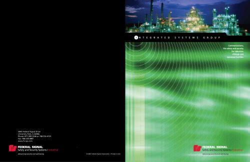 Integrated Systems Capabilities Brochure