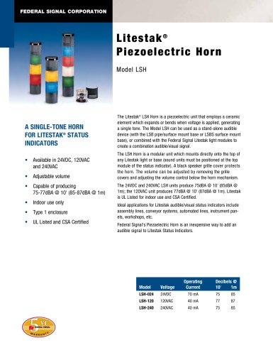 LSH Litestak® Piezoelectric Horn