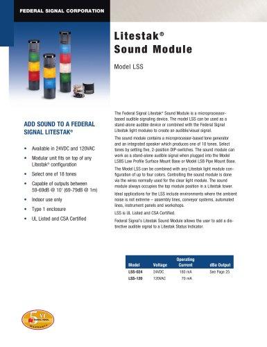 LSS Litestak® Sound Module