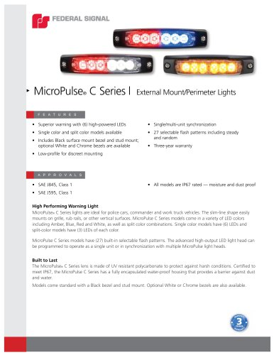 MicroPulse® C Series