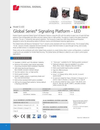 Model G-LED