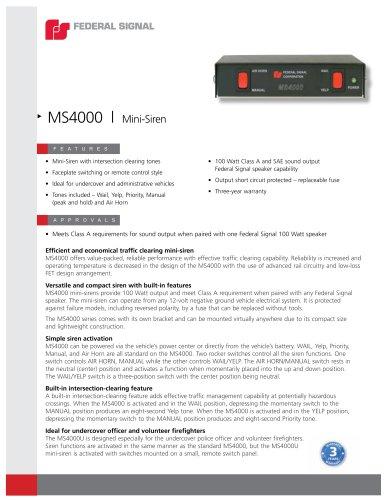 MS4000 Series