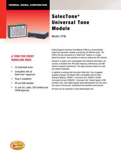 UTM SelecTone® Universal Tone Module