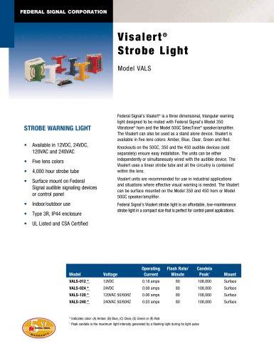 VALS Visalert® Strobe Light