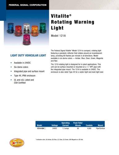 Vitalite® Rotating Warning Light 121A
