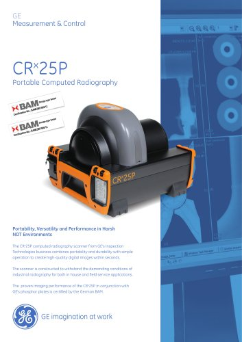 CRx25P Portable Computed Radiography