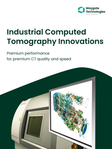 Industrial Computed Tomography Innovations