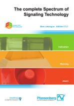 The complete Spectrum of Signaling Technology · Edition 13.1