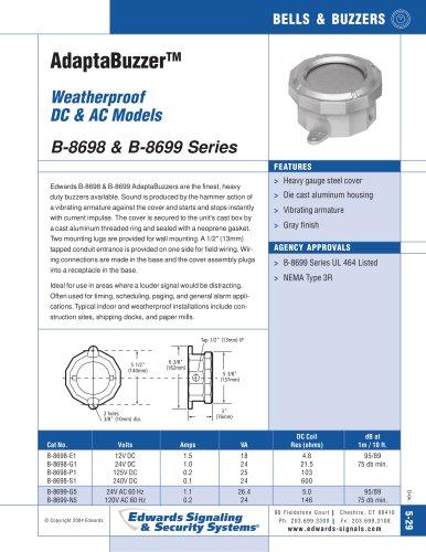 B-8698 & B-8699 Series Catalog