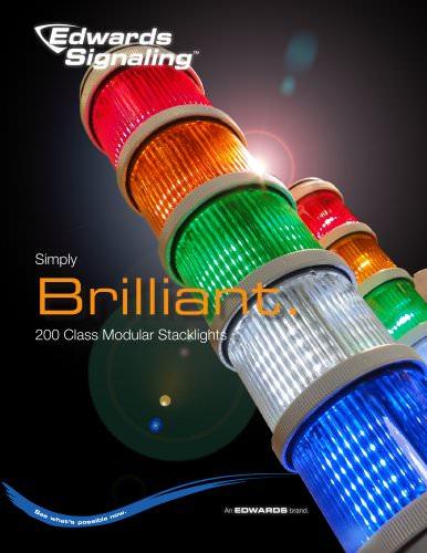 Edwards 200 Class Stacklight Brochure