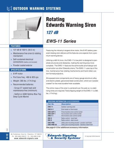 EWS-11 Series Catalog