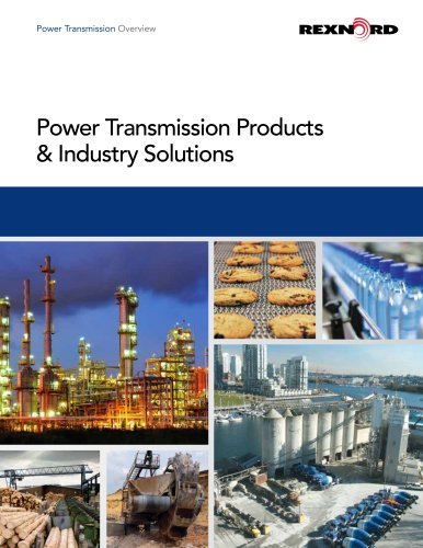Power Transmission Products & Industry Solutions