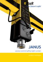 JANUS Safety lightcurtains with integrated Muting functions