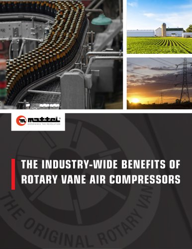 THE INDUSTRY-WIDE BENEFITS OF ROTARY VANE AIR COMPRESSORS