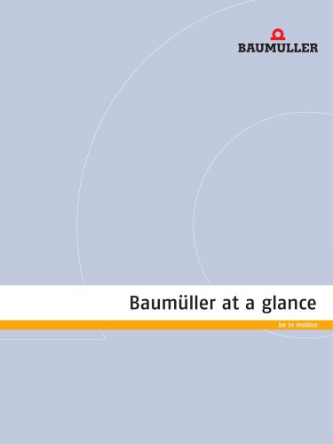Baumüller at a glance