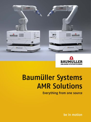 Baumüller Systems AMR Solutions