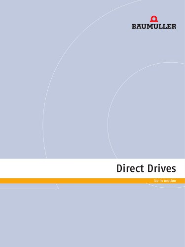 Direct Drives