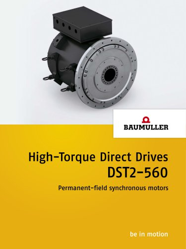 High-Torque Direct Drives DST2-560