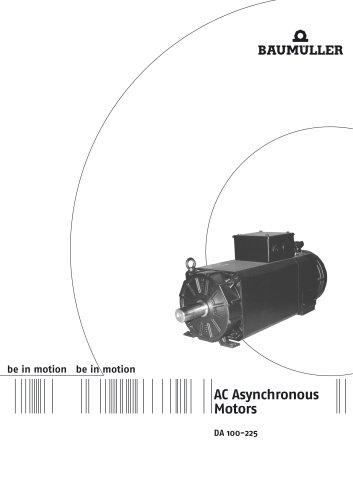 Three phase asynchronous motors DA 100-225