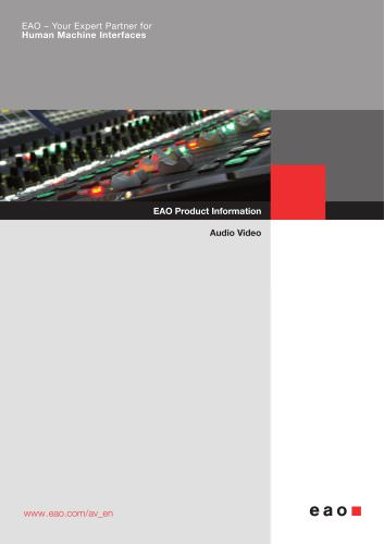 Audio Video Products Catalog