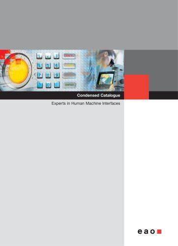 Condensed Catalogue - Complete Catalogue