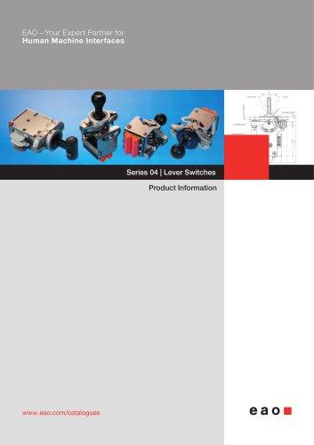 Series 04: Lever Switches - Gessmann
