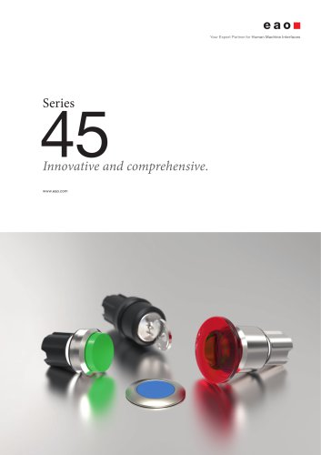 Series 45. Innovative and comprehensive