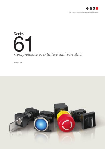Series 61. Comprehensive, intuitive and versatile.