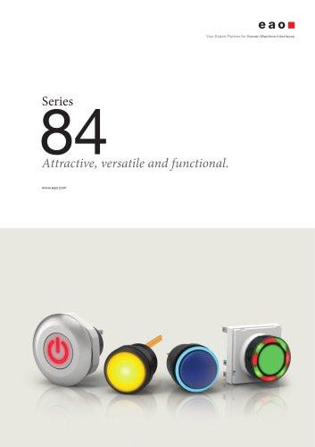 Series 84 - Attractive, versatile and functional.