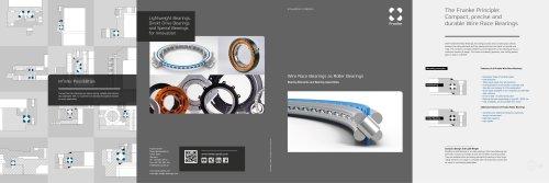 Franke Roller Bearings