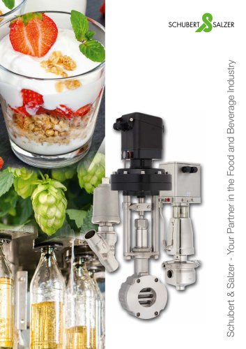 Schubert & Salzer - Your Partner in the Food and Drink Industry