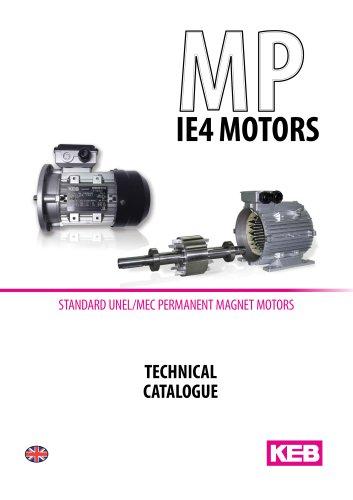 MP IE4 MOTORS