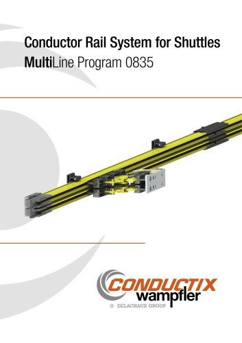 Conductor Rail System for Shuttles Multi Line Program 0835