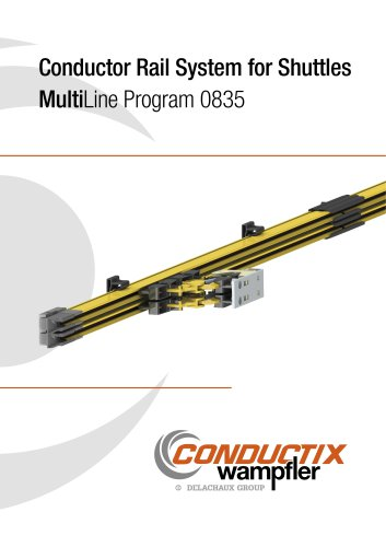 Conductor Rail System for Shuttles MultiLine 0835