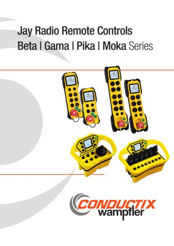 Jay Radio Remote Controls Beta | Gama | Pika | Moka Series