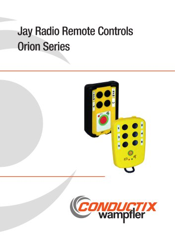 Jay Radio Remote Controls Orion Series