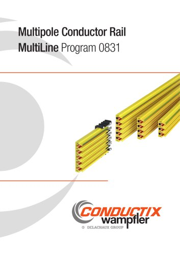 Multipole Conductor Rail MultiLine Program 0831