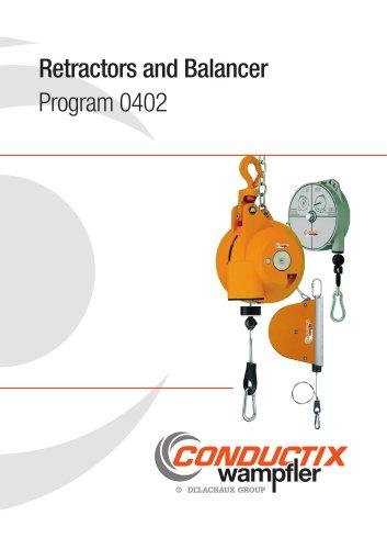 Retractors and Balancers Program 0402